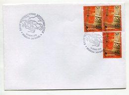 RALLY INTERNACIONAL ARGENTINA - CHILE 2010 ARGENTINA SOBRE ENVELOPE SPC -LILHU - Automovilismo