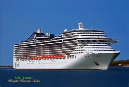 "Ship Postcards - Passenger   Ship "" Splendida ""    Read Description - Ships"