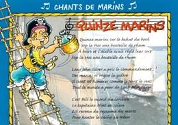 Chants De Marins  Quinze Marins (Michel Tonnerre)   Illustration Serge Lindier TBE - Musique