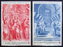 ORDRE DE MALTE                     N° 442/443                      NEUF**    (442 Tâché) - Malte (Ordre De)