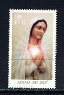 IRELAND - 2017 Fatima 1.35 Euro  Used As Scan - 1949-... Republic Of Ireland