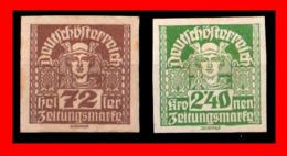 AUSTRIA (ÖSTERREICH) SELLOS AÑO 1920-22 - 1918-1945 1. Republik