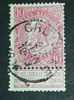 COB N ° 58 Oblitération Cruybeke 1904 - 1893-1900 Fine Barbe