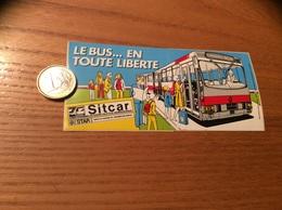 AUTOCOLLANT, Sticker «LE BUS EN TOUTE LIBERTE - Sitcar - STAR» (Renault, Rennes 35) - Adesivi