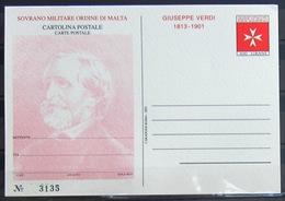 ORDRE DE MALTE                     Carte Postale                         NEUF** - Malte (Ordre De)