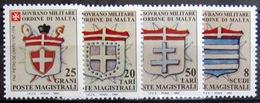 ORDRE DE MALTE                     N° 470/473                         NEUF** - Malte (Ordre De)