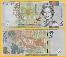 Bahamas 1/2 (half) Dollar / 50 Cents P-new 2019 UNC - Bahamas