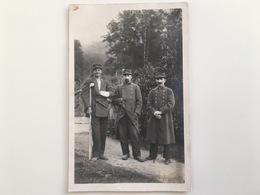 Foto AK Soldat Militair Francais Uniform Blessee Regiment 16 / 133 / 52 Photo Uriage Les Bains - Oorlog 1914-18