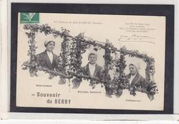 SOUVENIR DU BERRY , LES CHANSONS DE JEAN RAMEAU ILLUSTREES , SAINT AMAND , BOURGES SANCERRE , CHATEAUROUX, A150-25 - Musique