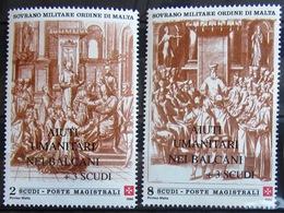 ORDRE DE MALTE                     N° 596/597                        NEUF** - Malte (Ordre De)