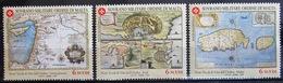 ORDRE DE MALTE                     N° 582/584                        NEUF** - Malte (Ordre De)