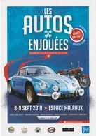 Voiture De Rallye. RENAULT ALPINE - Cartes Postales