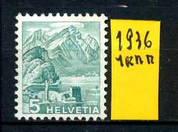SVIZZERA - HELVETIA - Year 1936 - Nuovo - New- Fraiche - Frisch - MN . - Svizzera