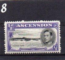 1938 GV1 1/2d MNH - Ascension