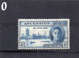 1946 Victory 4d MNH - Ascension
