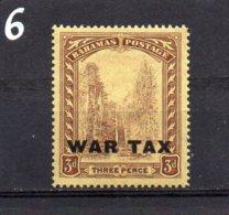 1918 War Tax 3d MNH - 1859-1963 Crown Colony