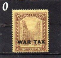 1918 War Tax 3d MNH - Bahamas (...-1973)