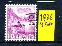 SVIZZERA - HELVETIA - Year 1936 -  Viaggiato - Traveled - Voyagè - Gereist. - Suiza