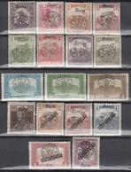 NEURUMÄNIEN 1919 - Partie 17x Mit Aufdruck II Großwardein - Siebenbürgen (Transsylvanien)