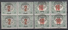 NEURUMÄNIEN 1919 - Porto 3II + 6II 4er - Siebenbürgen (Transsylvanien)