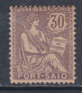 Port-Saïd N° 29 X Partie De Série : 30 C. Violet Trace De Charnière, Sinon TB - Neufs