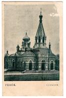 PLOCK Cerkiew, Alte Postkarte, Polska - Polen