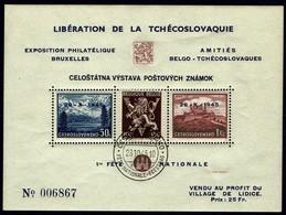 CSSR AS14**/ Lidické Aršíky Belgie/ Lidice/ Československ é Aršiky Bratislava 1937 - Tchécoslovaquie