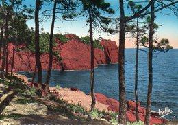 La Corniche D'Or Le Trayas (Var) Les Rochers Rouges - Aups