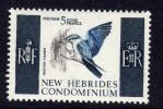 Nouvelles Hébrides N° 256 XX Série Courante   Légende  Anglaise  Sans Charnière TB - Légende Anglaise
