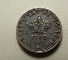 Portugal 50 Reis 1893 Silver - Portugal