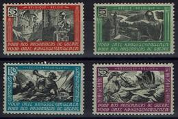 """Belgien Belgie Belgium 1942 - Zuschlagsmarke """"für Unsere Kriegsgefangenen"""" - WO2"""