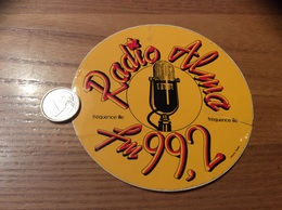AUTOCOLLANT, Sticker « Radio Alma FM 99.2 - Fréquence Ille  » - Aufkleber