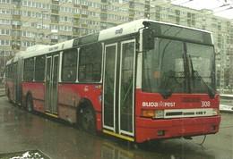 BUS * AUTOBUS * TROLLEY * TROLLEYBUS * IKARUS 435T * BKV * ORS VEZER SQUARE * BUDAPEST * Top Card 0988 * Hungary - Bus & Autocars