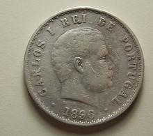 Portugal 500 Reis 1896 Silver - Portugal