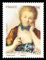 France 2019 Mih. 7242 Mathematician Emilie Du Chatelet MNH ** - France