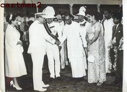 OLD PHOTO : INDE INDIA LE MARECHAL TITO A CEYLAN BROZ COLOMBO OLIVIER GOONETILAKA BANDARANAIKE SRI LANKA - Sri Lanka (Ceylon)