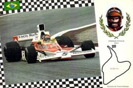 ** Lot De 3 Cartes ** SPORT AUTOMOBILE Grand Prix F1 : Emerson FITIPALDI - GRAHAM HILL - Tim SCHEKEN - CPSM GF - - Grand Prix / F1