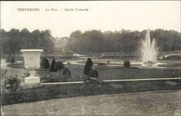 TERVUEREN-TERVUREN - Le Parc - Jardin Français - Edit. : Veuve Decock, Tervueren - Tervuren