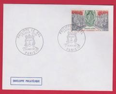 FDC PHILIPPE LE BEL  Le 16 Novembre 1968 ; Oblitération PARIS - 1960-1969