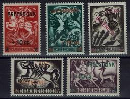 "Belgien Belgie Belgium 1946 - Zuschlagsmarke - Aufdruck ""Breendonk  +10 FR"" - WO2"