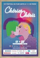 C P Du 24 ème Festival Du Film L G B T Q  ( Gay Lesbien ) De Paris - Chéries Chéris - 2018 - Cinema