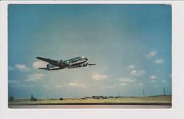 Vintage Rppc KLM K.L.M Royal Dutch Airlines Douglas Dc-4 Aircraft - 1919-1938: Entre Guerres