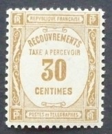 Taxe N°57 Neuf ** MNH - Taxes