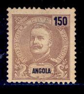 ! ! Angola - 1898 D. Carlos 150 R - Af. 48 - No Gum - Angola