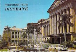 ** Lot Of 4 Postcards ** AUSTRALIA ( Queensland ) BRISBANE - CPSM CPM Grand Format - Australie - Brisbane
