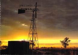 ** Lot Of 2 Postcards ** AUSTRALIA : SUNSET ( Yunta S.A. & PORT MACQUARIE ) CPSM CPM Grand Format - Australie - Australie