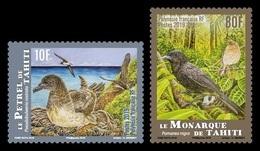 French Polynesia 2019 Mih. 1399/400 Fauna. Endemic Birds. Tahiti Petrel And Tahiti Monarch MNH ** - Ongebruikt
