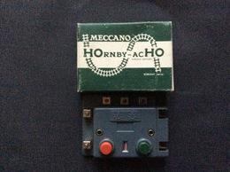 HORNBY-acHO MECCANO-TRIANG 1 Boîtier De Commande A Contact Permanent  Ref. 7840 - Commandes & Accessoires Digitaux
