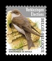 Belgium 2019 Mih. 4878 Definitive Issue. Fauna. Birds. Sand Martin MNH ** - Neufs
