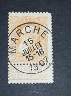 COB N° 79 Oblitération Marche 1907 - 1905 Grosse Barbe